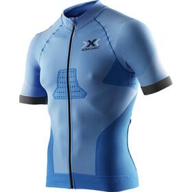 X-Bionic Race EVO Biking Shirt SS Men Marina Blue/Anthracite